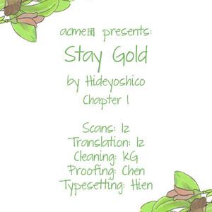 [Hideyoshico] Stay Gold (update c.16) [Eng] – Gay Comics