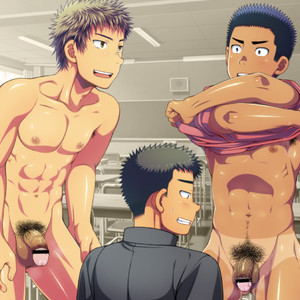 [LUNATIQUE] Let's prank to seniors and classmates in stop time [CG] – Gay Comics image 023