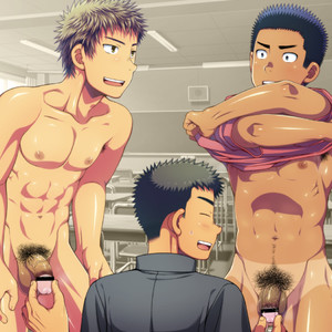 [LUNATIQUE] Let's prank to seniors and classmates in stop time [CG] – Gay Comics image 024