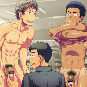 [LUNATIQUE] Let's prank to seniors and classmates in stop time [CG] – Gay Comics image 026
