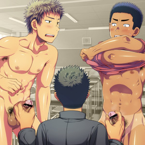 [LUNATIQUE] Let's prank to seniors and classmates in stop time [CG] – Gay Comics image 036