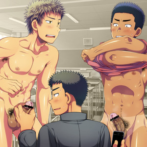 [LUNATIQUE] Let's prank to seniors and classmates in stop time [CG] – Gay Comics image 037