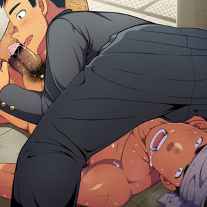 [LUNATIQUE] Let's prank to seniors and classmates in stop time [CG] – Gay Comics image 173