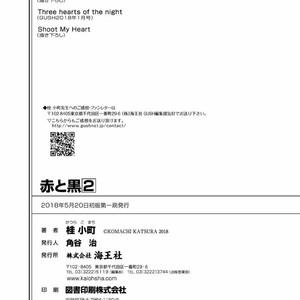 [KATSURA Komachi] Aka to Kuro [Eng] – Gay Manga image 320