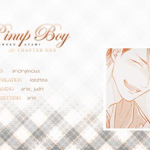 [Michinoku Atami] Pinup Boy (update c.2) [Eng] – Gay Yaoi