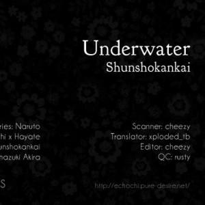 [Shunshokankai (MINAZUKI Akira)] Naruto dj – Underwater [Eng] – Gay Comics