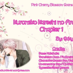 [SAKYOU Aya] Kuroneko Kareshino Arukikata (update c.9) [Eng] – Gay Comics