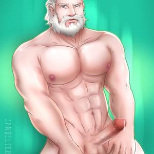 [Zangel Zedone] Reinhardt Set 1 (Overwatch) – Gay Comics image 006
