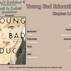 [Dayoo] Young Bad Education (c.2) [kr] – Gay Comics