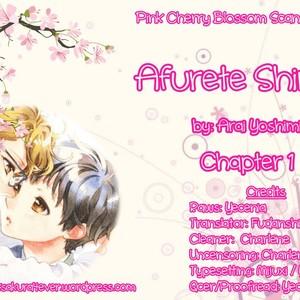 [ARAI Yoshimi] Afurete Shimau [Eng] {Pink Cherry Blossom Scans} – Gay Comics