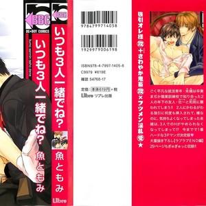 [SAKANA Tomomi] Itsumo 3-nin Issho de ne? [JP] – Gay Comics image 003