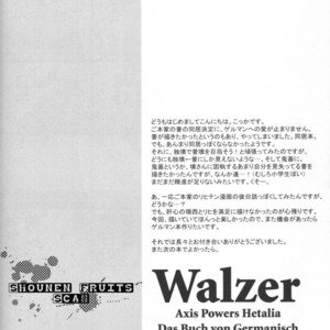 [Cocca (Kokka)] Hetalia dj – Walzer [JP] – Gay Comics image 015