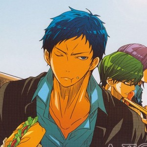 [ESplus] A.K@log – Kuroko no Basuke dj [JP] – Gay Comics