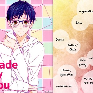 [Dezile] Made By You – Yuri!!!on Ice dj [Eng] – Gay Comics image 001