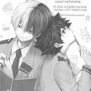 [Zeroshiki/ Kabosu] BnHa dj – Sweet Metronome [Eng] – Gay Comics
