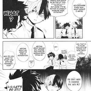 [Zeroshiki/ Kabosu] BnHa dj – Sweet Metronome [Eng] – Gay Comics image 004
