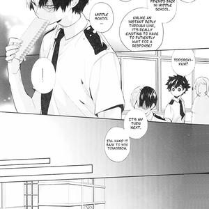 [Zeroshiki/ Kabosu] BnHa dj – Sweet Metronome [Eng] – Gay Comics image 009