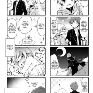 [Sanshoku Dango (Riko)] Happy Merry Christmas Birthday – Ansatsu Kyoushitsu dj [Eng] – Gay Comics image 002