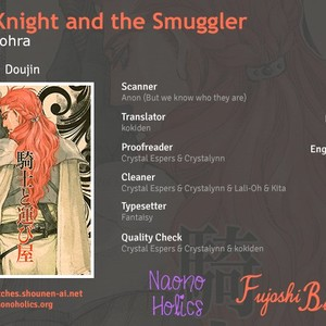 [NAIFU / NAONO Bohra] The Knight and the Smuggler (update c.3) [Eng] – Gay Comics