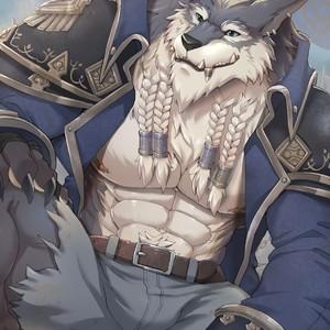 [Sollyz Sundyz] Greymane (World of Warcraft) – Gay Comics