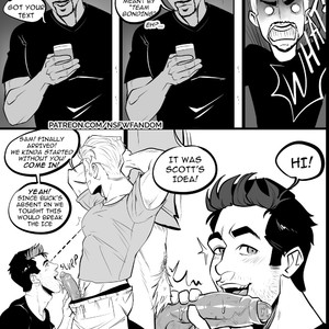 [thensfwfandom] Antman, Cap and Falcon Threesome – Avengers dj [Eng] – Gay Comics