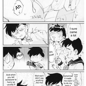 [Muguri/ Sono Hen no Are] Sera Fuku To Onii-San – Osomatsu-san dj [Eng] – Gay Comics image 019