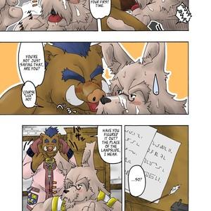 [Bear Tail (Chobikuma)] The Dog & The Bear The Poet Of The Stars & The Partaker Of The Moon 2 [Eng] – Gay Comics image 008