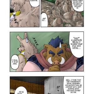 [Bear Tail (Chobikuma)] The Dog & The Bear The Poet Of The Stars & The Partaker Of The Moon 2 [Eng] – Gay Comics image 009