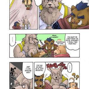 [Bear Tail (Chobikuma)] The Dog & The Bear The Poet Of The Stars & The Partaker Of The Moon 2 [Eng] – Gay Comics image 011