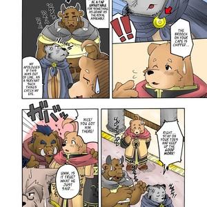 [Bear Tail (Chobikuma)] The Dog & The Bear The Poet Of The Stars & The Partaker Of The Moon 2 [Eng] – Gay Comics image 013