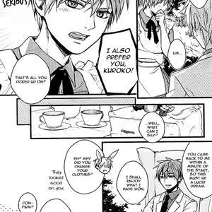 [Praly/ Tsuzuki Saaya] Kuroko no Basket dj – Alice no Okonomi de [Eng] – Gay Comics image 012