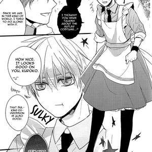 [Praly/ Tsuzuki Saaya] Kuroko no Basket dj – Alice no Okonomi de [Eng] – Gay Comics image 014