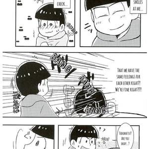 [Hitsotsu No Meruhen/ Ame] Ai No Arika – – Osomatsu-san dj [Eng] – Gay Comics image 003