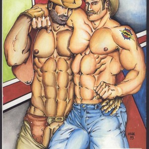 [Oscar Sarrazola] Butthole Town Tales [Eng] – Gay Comics