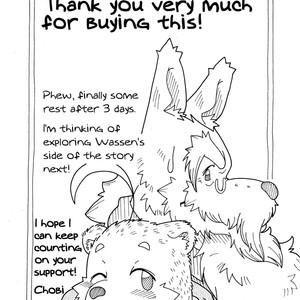 [Bear Tail (Chobikuma)] The Dog & The Bear The Poet Of The Stars & The Partaker Of The Moon 3 [Eng] – Gay Comics image 029