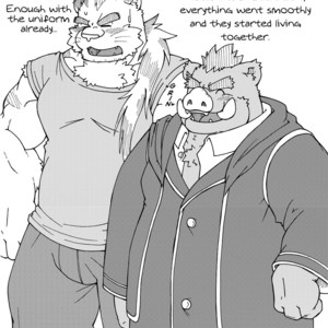 [Bear Tail (Chobikuma)] The Dog & The Bear The Poet Of The Stars & The Partaker Of The Moon 3.5 [Eng] – Gay Comics image 011