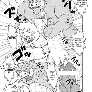 [Bear Tail (Chobikuma)] The Dog & The Bear The Poet Of The Stars & The Partaker Of The Moon 3.5 [Eng] – Gay Comics image 018