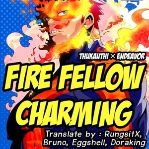[Maraparte (Kojima Shoutarou) FIRE FELLOW CHARMING – My Hero Academia dj [Eng] – Gay Comics image 001