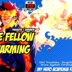 [Maraparte (Kojima Shoutarou) FIRE FELLOW CHARMING – My Hero Academia dj [Eng] – Gay Comics image 002