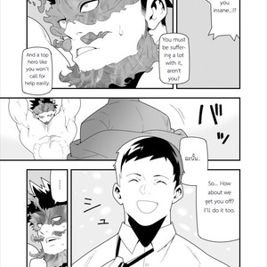 [Maraparte (Kojima Shoutarou) FIRE FELLOW CHARMING – My Hero Academia dj [Eng] – Gay Comics image 010