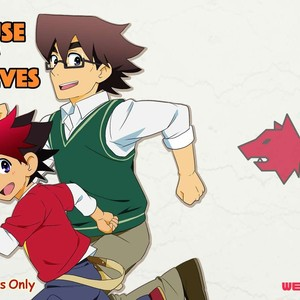 [WEST ONE (10nin)] House of Wolves – Tenkai Knights dj [Eng] – Gay Comics
