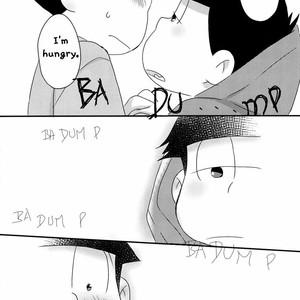 [esoRxyliL/ Sho] Nabe ni futa wo shinaide kudasai – Osomatsu-san dj [Eng] – Gay Comics image 009