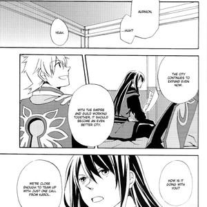 [Yukeyuke Ryuseigo/ YORUKURA Setsuya] Tales of Vesperia dj – Saisho wa Yonde, Furetara Saigo [Eng] – Gay Comics image 007