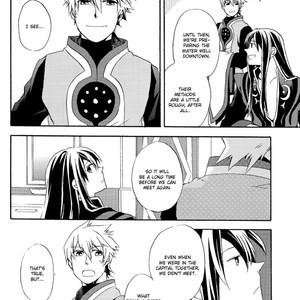 [Yukeyuke Ryuseigo/ YORUKURA Setsuya] Tales of Vesperia dj – Saisho wa Yonde, Furetara Saigo [Eng] – Gay Comics image 008