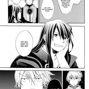 [Yukeyuke Ryuseigo/ YORUKURA Setsuya] Tales of Vesperia dj – Saisho wa Yonde, Furetara Saigo [Eng] – Gay Comics image 009