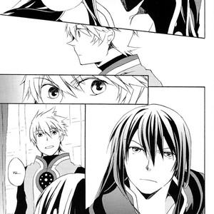 [Yukeyuke Ryuseigo/ YORUKURA Setsuya] Tales of Vesperia dj – Saisho wa Yonde, Furetara Saigo [Eng] – Gay Comics image 011
