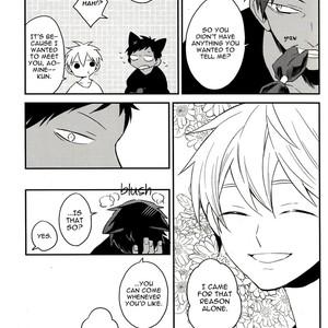 [Latte/ Maco] Kuroko no Basket dj – LOVE in HALLOWEEN [Eng] – Gay Comics image 011