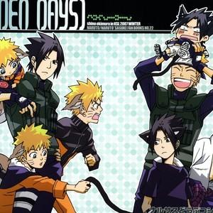 [KSL (OKIMURA Shino)] Naruto dj – Golden Days [Eng] – Gay Comics