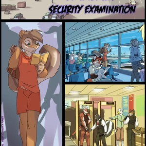 [Zummeng] An Intensive Security Examination [Eng] – Gay Comics