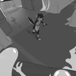 [Zummeng] Haunted House – Gay Comics